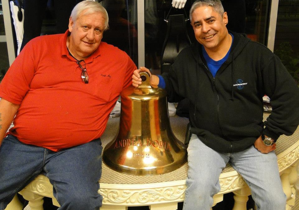 Art Kushner and the Bell from the Andrea Doria