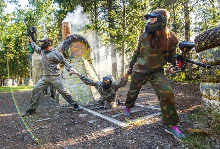 October 8th – Calling all Dive Warriors! Paintball at Battle Creek, West Milford