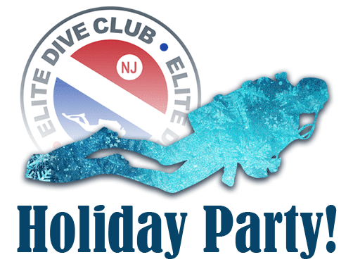 The Dive Club meeting and holiday party is this Thursday, January 10th!