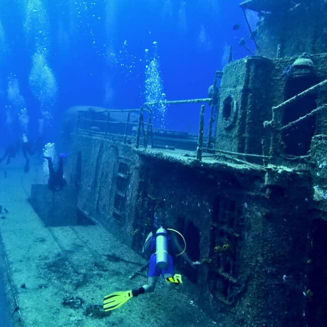 May 10th – Wreck Diving with Joe Reardon