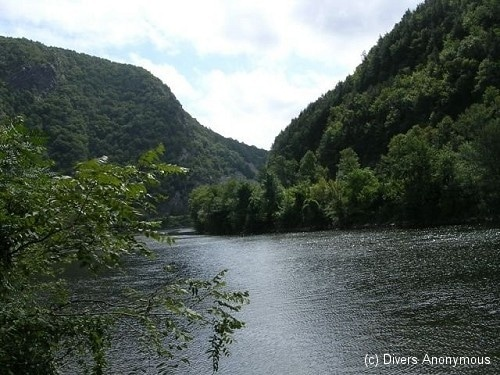 September 26th Local Dive – Delaware Water Gap